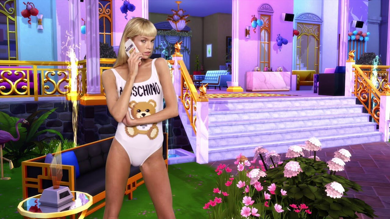 The Sims x Moschino collab