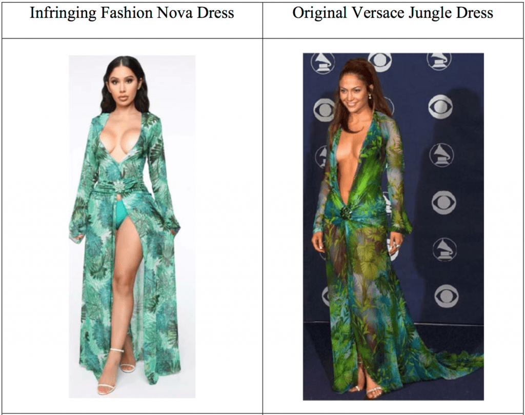 Fashion Nova Responds To Versace Lawsuit With 32 Defenses 2 Counterclaims And A Vow To Fight The Fashion Law