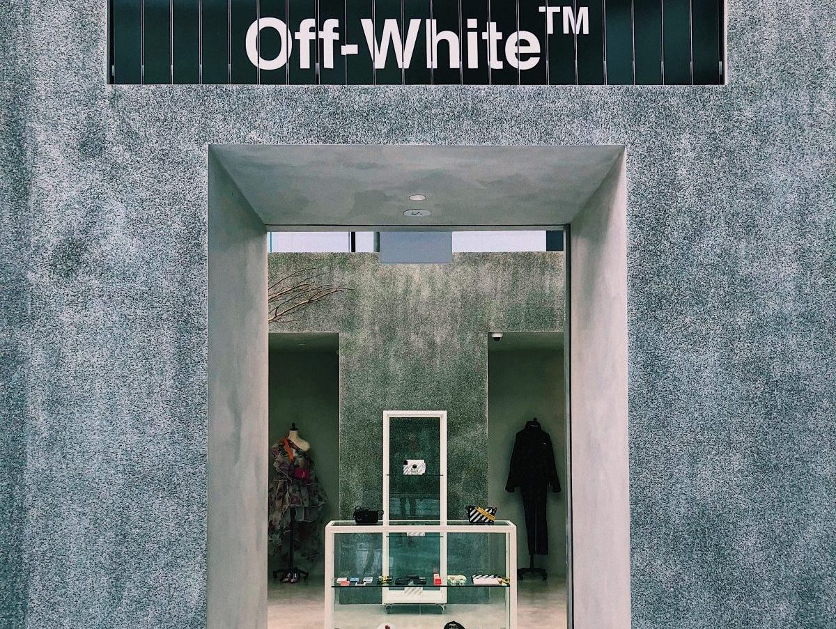 Off-White is Suing an Ice Cream Chain Over Allegedly Infringing Merch and Store Decor